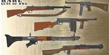 TOP 5 Rare Guns of WWII