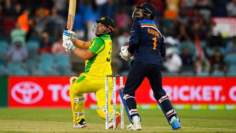 Finch continues fine form with another fifty | Dettol ODI Series 2020