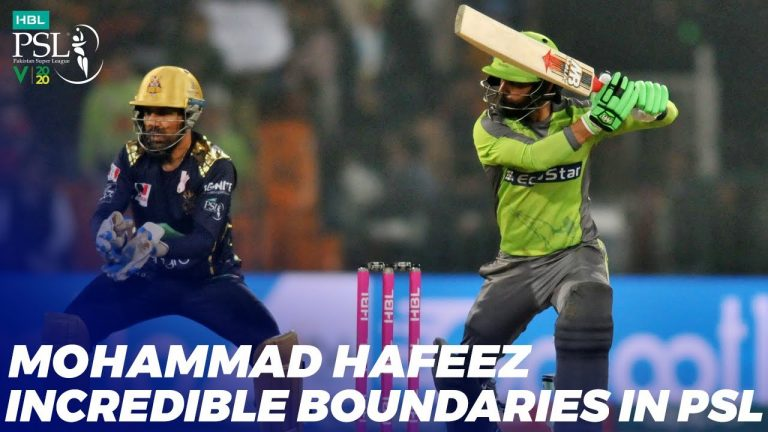 Mohammad Hafeez Incredible Boundaries In HBL PSL 2020 | MB2T