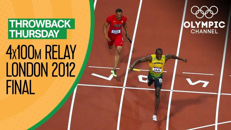Jamaica beat the Men's 4x400m Olympic Record at London 2012 | Throwback Thursday