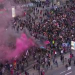 Massive protest against ban on abortion in Poland