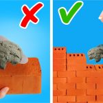 DIY MINIATURE HOUSE FROM LITTLE BRICKS AND CEMENT by 5-Minute Crafts