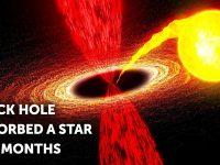 Black Hole Ate a Star Like Spaghetti, Watch What Astronomers Saw