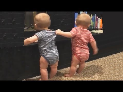 The FUNNIEST and CUTEST video you'll see today! - TWIN BABIES Adorable Moments 1