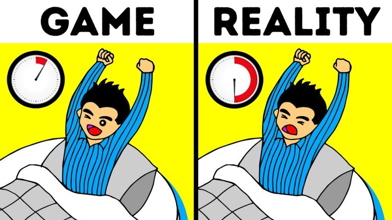 What Happens in Real Life But Not in Video Games