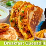 Fast & Easy Fancy Breakfast Idea Loaded Chicken Supreme Quesadillas Recipe in Urdu Hindi - RKK