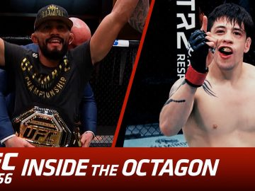 UFC 256: Inside the Octagon - Figueiredo vs Moreno