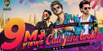 Cute Jehi Look | Official Song | Nadeem Mubarak | Umair Awan | Ali Khan