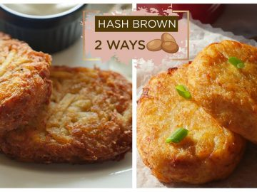Hash Brown 2 Ways Recipe By Food Fusion