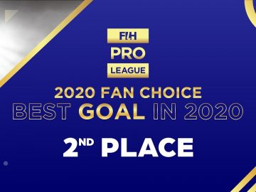 #FIHProLeague - 2020 Fan Choice - Top goals of the year - 2nd Place - Gurjant Singh's goal vs NED
