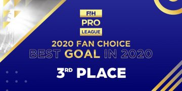 #FIHProLeague - 2020 Fan Choice - Top goals of the year - 3rd Place - Carla Rebecchi's goal vs USA