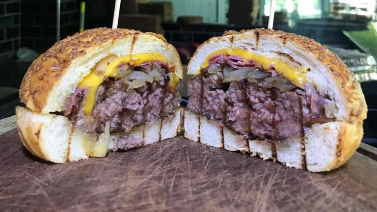 Cheeseburger Recipe! DOUBLE CHEESE BURGER GRILLED CHEESE GRILLED BEEF