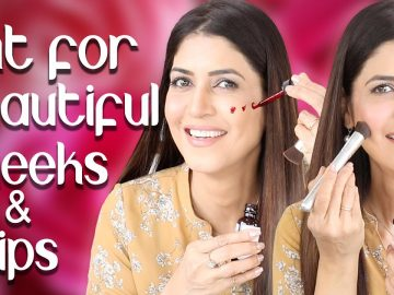 Homemade Cheek and Lip Tint in 2 Different Shades with 2 Simple Ingredients - Ghazal Siddique