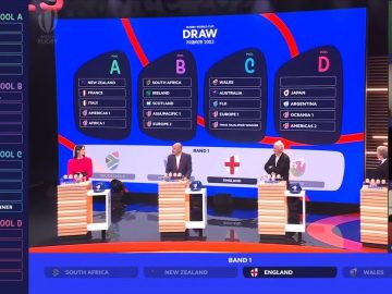 RWC 2023 Draw | Head Coaches react to the draw as it happens 😲 1
