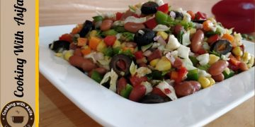 Delicious Arabic Salad Recipe • Cooking with Asifa