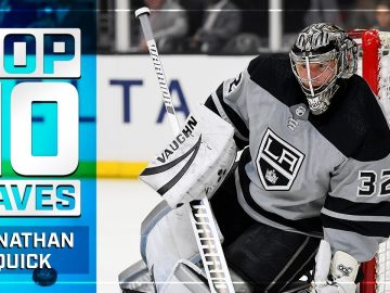 Top 10 Jonathan Quick Saves from 2019-20   NHL