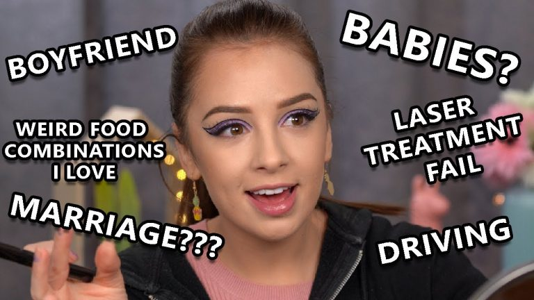 Q&A Get Ready With Me, Life Update,Makeup Tutorial,Story Time...yeah all that in one video lol