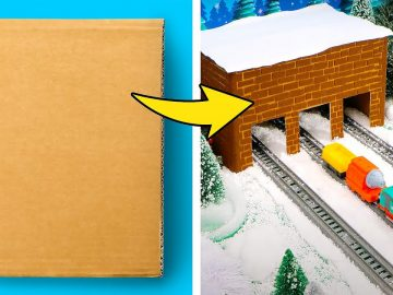 COOL WINTER HOLIDAY HACKS    Gift Ideas and Funny Crafts with Thomas & Friends™