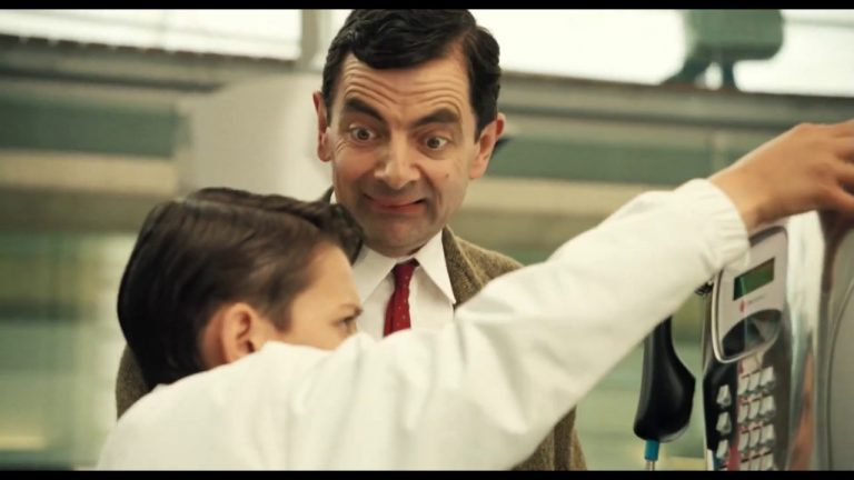 Wrong Number Mr Bean!   Mr Bean's Holiday Movie Clip   Classic Mr Bean