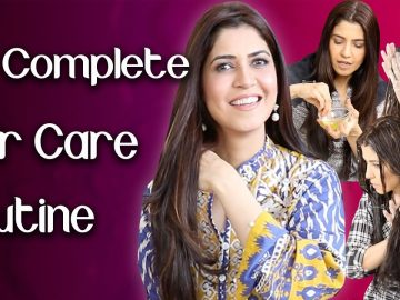 Complete Haircare Routine for Thick, Long, and Strong Hair - Ghazal Siddique
