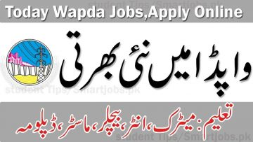 LATEST WAPDA JOBS 2021, New wapda jobs in pakistan 2021