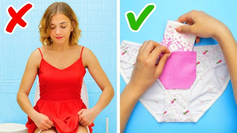 20 IDEAS TO SURVIVE YOUR PERIODS