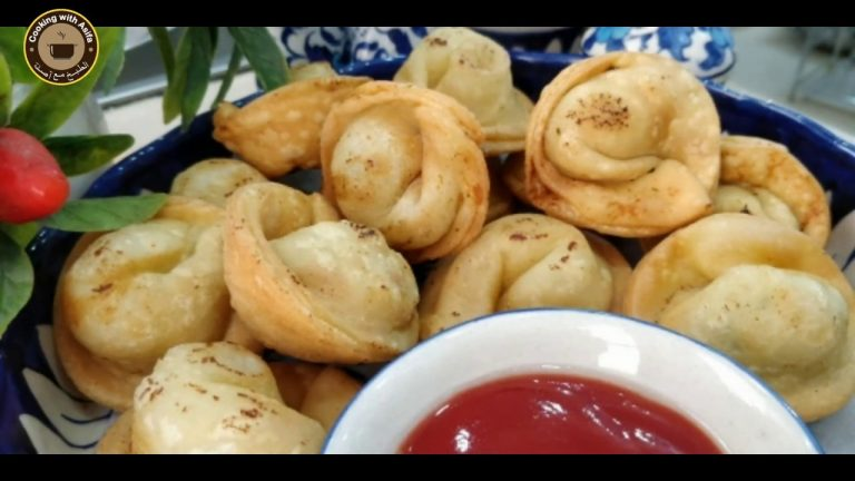 Chicken Wonton Recipe by Cooking with Asifa - CWA
