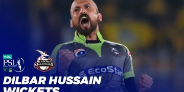Dilbar Hussain Wickets | HBL PSL 2020 | MB2T