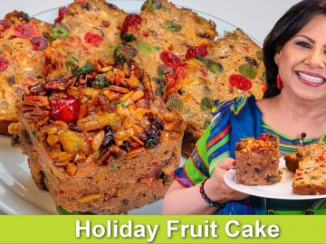 Holiday Fruit Cake Recipe in Urdu Hindi - RKK