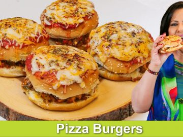 Pizza Burgers Recipe in Urdu Hindi - RKK
