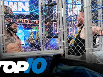 Top 10 Friday Night SmackDown moments: WWE Top 10, Dec. 25, 2020