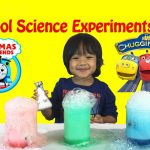 Science Experiment for Kids with elephant toothpaste and baking soda and vinegar 1