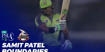 Samit Patel Boundaries | HBL PSL 2020 | MB2T