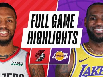 TRAIL BLAZERS at LAKERS | FULL GAME HIGHLIGHTS | December 28, 2020