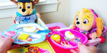 🔴Paw Patrol's Skye and Chase's fun day at the Playground No Bullying at School Baby Pups Videos! 19