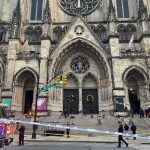 A gunman is dead after a shooting at a New York City cathedral 1