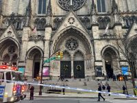 A gunman is dead after a shooting at a New York City cathedral 5