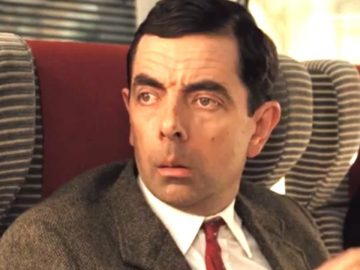 Mr Bean in a wedding ceremony 21