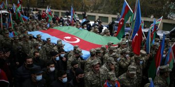 'Historic victory' as Azerbaijan fully reclaims lands around Nagorno-Karabakh from Armenia 16