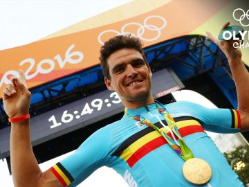 3️⃣1️⃣ - 31-year-old Greg Van Avermaet wins the men's road race! | #31DaysOfOlympics