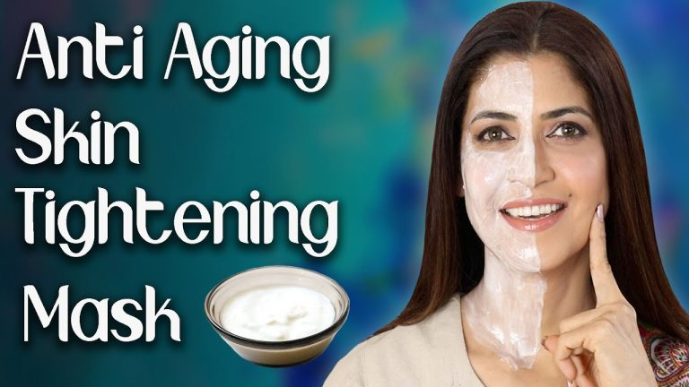 Homemade Anti-Aging Skin Tightening Face Mask for Younger Looking Skin - Ghazal Siddique