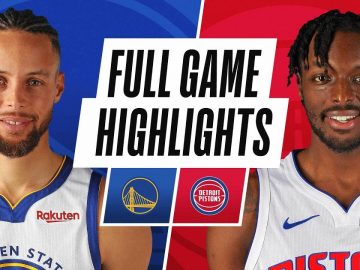 WARRIORS at PISTONS | FULL GAME HIGHLIGHTS | December 29, 2020