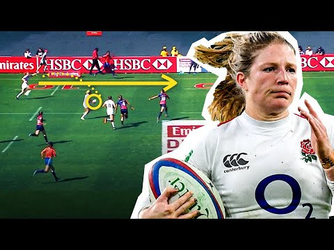 England Rugby's Flying Winger 💨 Lydia Thompson 1