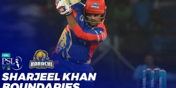 Sharjeel Khan Boundaries | HBL PSL 2020 | MB2T