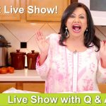 1st Live Cooking Show! With Live Questions & Answers! - RKK