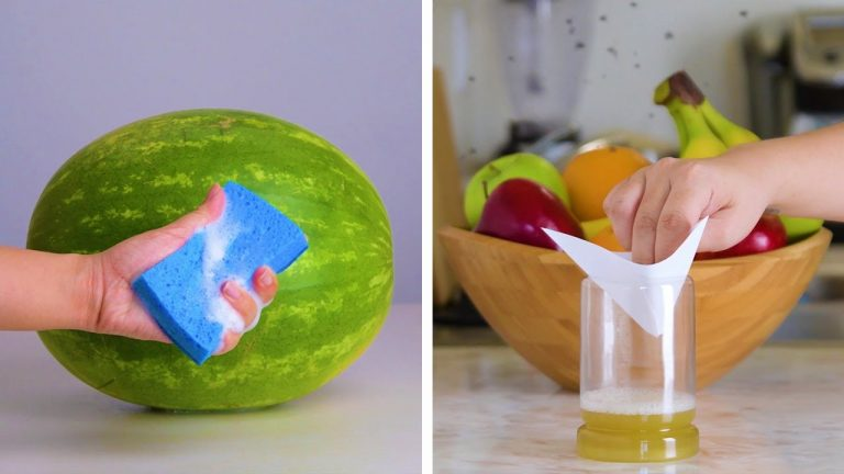 10 Fruit and Vegetable Hacks That Will Blow Your Mind!! Blossom
