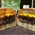 THE BEST BURGER IN ALLTIME DOUBLE CHEESE BURGER GRILLED CHEESE