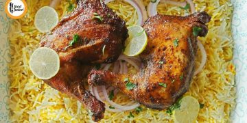 Salt Baked Chicken - Middle Eastern Style Recipe By Food Fusion