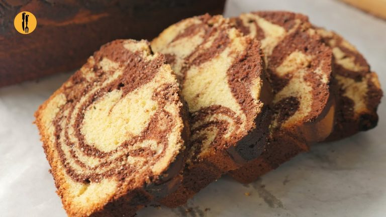 Marble Cake Recipe By Food Fusion