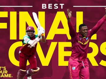 FINAL OVER FINISHES! | The Greatest Cricketing Finales of All Time: Part 1 | West Indies Cricket